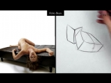 Proko Figure drawing fundamentals - 05 Robo Bean - robo_bean_example_16