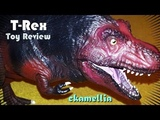 Tyrannosaurus Rex Action Figure - Dinosaurs In The Wild Toy Review With Slideshow T-Rex