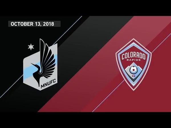 HIGHLIGHTS Minnesota United FC vs. Colorado Rapids   October 13, 2018
