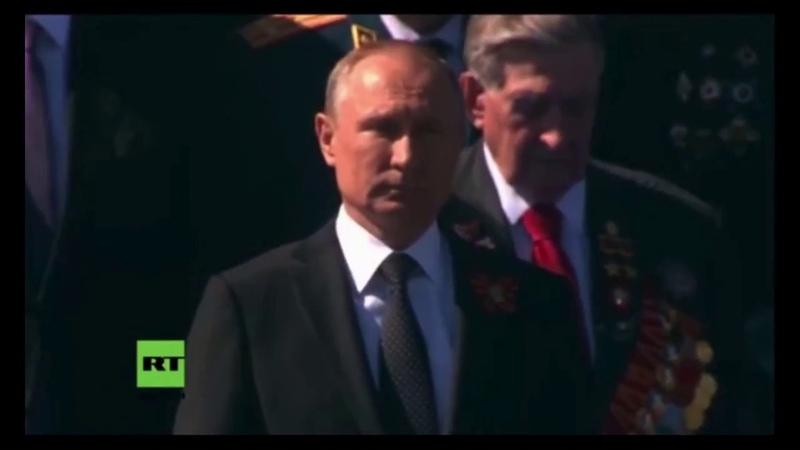 Sabaton March to War Video Siegesparade Moskau 2018 RT Deutsch