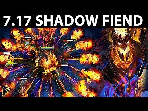 AWESOME SHADOW FIEND PATCH 7.17 DOTA 2 NEW META GAMEPLAY 131