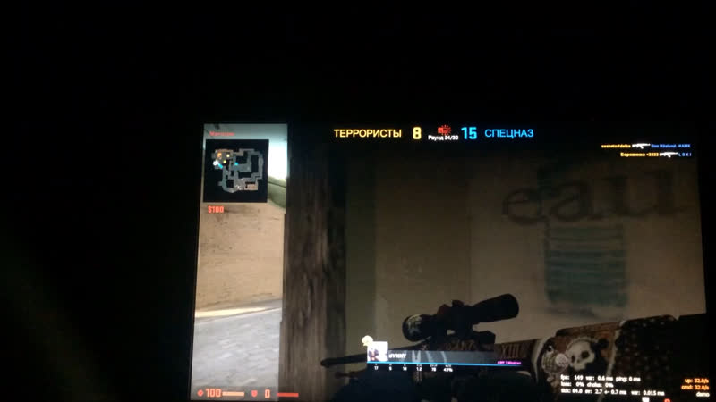 DVNNY 3 frags and defuse bomb 0 1second