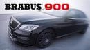 BRABUS 900 based on Maybach S 650 | GIMS 2019