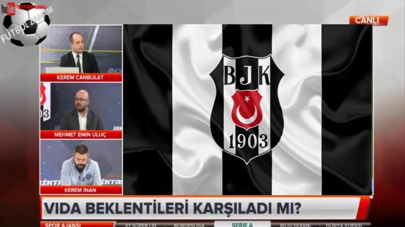 BEŞİKTAŞ Spor Ajansı ¦ Domogoj Vida Transfer Yorumları 25 Haziran 2018