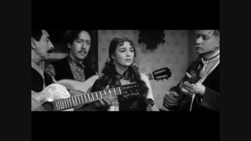 Тимофеева Софья - Невечерняя - цыганская нар.песня - хф - Живой труп - реж. В. Венгеров - 1968 год