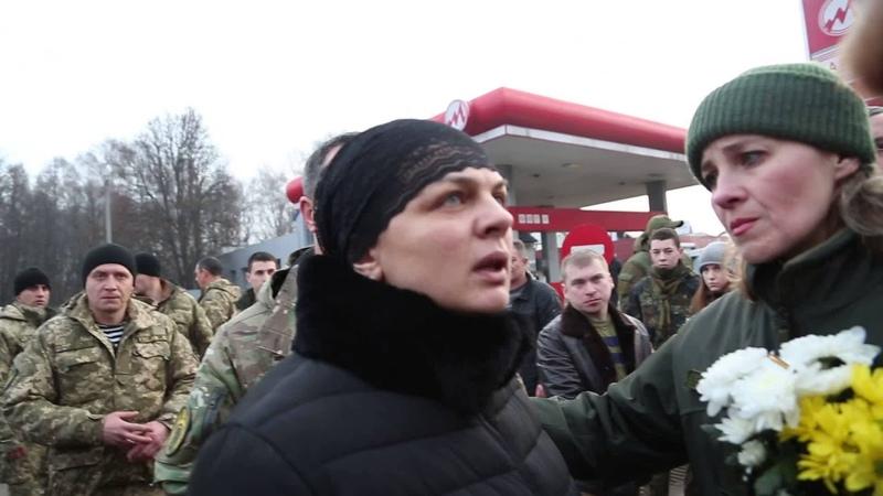 Зустріч загиблого Юрія Горайського у м Тернопіль 06 березня 2016 р ч1