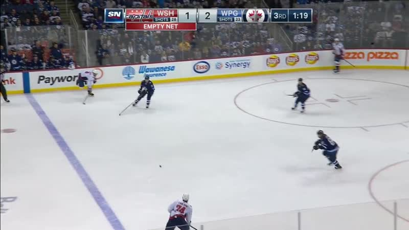 T.J. Oshie Visibly Shaken After Being Slammed To The Ice By Josh Morrissey