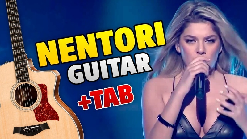 Arilena Ara Nentori fingerstyle guitar cover with tabs and karaoke
