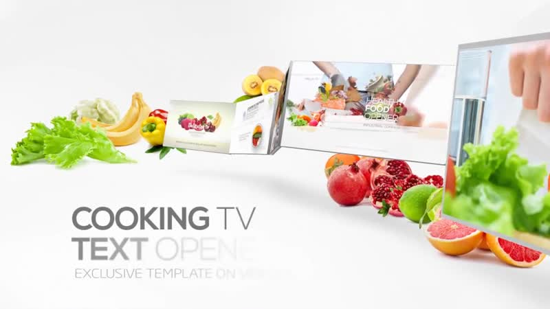 Cooking TV - Clean Broadcast Pack