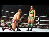 Daniel Bryan AJ accepts Bryan's propasal Raw - June 16, 2012