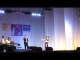 Юданова Оксана. Чемпионат по восточным танцам. Г. Самара. Импровизация под оркестр.