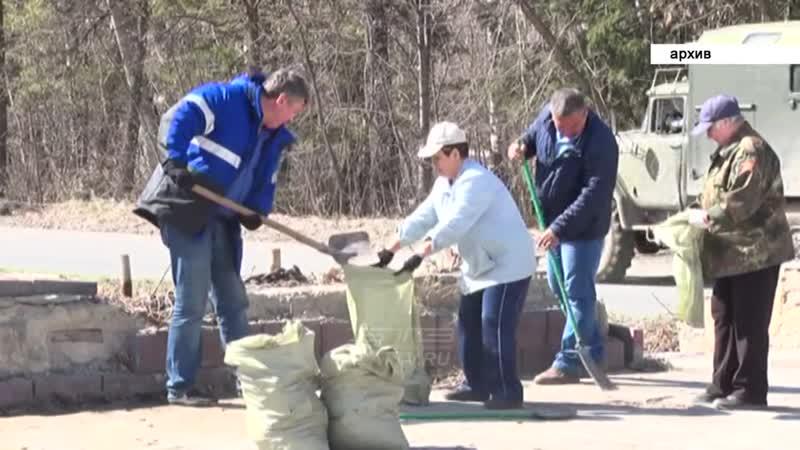 В рамках месячника санитарной очистки в Златоусте вывезут более 5 тысяч кубометров мусора