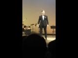 Дмитрий Никаноров на сцене театра им. Вахтангова