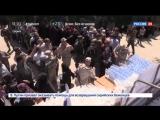 Российские военные раздали гумпомощь в сирийской провинции Эль-Кунейтра