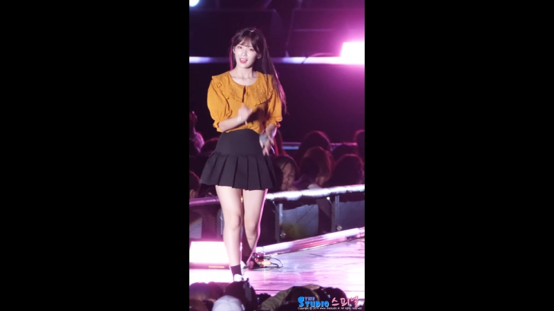 · Fancam · 180909 · OH MY GIRL - Cupid (Arin focus) · Daegu K-Pop Festivsl ·