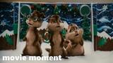 Элвин и бурундуки (2007) - Рождественская песня (37) movie moment