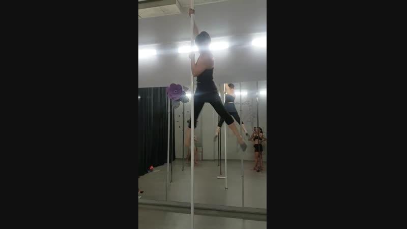 Pole dance Крутяшка для начинающих Пилюгина Лили