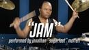 Michael Jackson's Drummer Jonathan Moffett Performs Jam On Drumeo