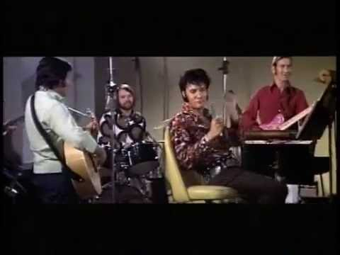 Elvis Presley - I Just Can't Help Believing 29/07/70 Culver City Rehearsal (complete with new audio)