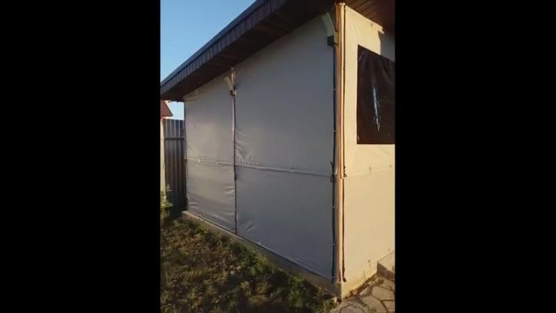 Мягкие окна из ОКСФОРДА 600D Рип-Стоп