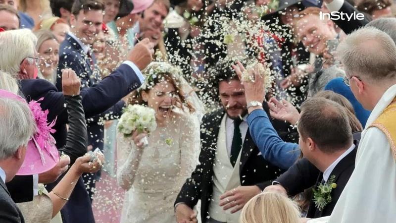 Game of Thrones Rose Leslie Marries Kit Harington | InStyle