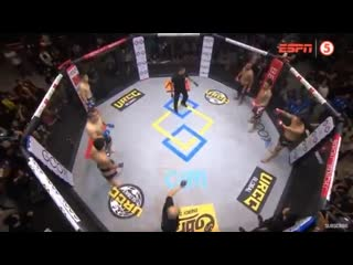 3 vs. 3 mma. insanity this morning at urcc 77 in the philippines.