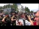 Донецк приветствует чеченский батальон Восток 25 мая 2014 Смерть американским карателям