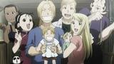 Fullmetal Alchemist Brotherhood Final Scene English dubcover HD