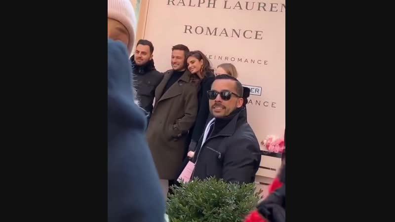 Мероприятие бренда «Ralph Lauren» в рамках рекламной кампании духов «Romance», Нью-Йорк (14 февраля 2019)