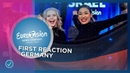 S!sters win Unser Lied Für Israel in Germany! 🇩🇪 - Eurovision 2019