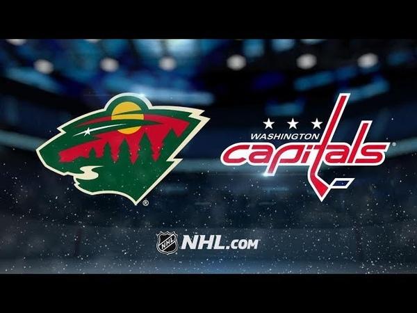 Washington Capitals vs Minnesota Wild Nov 13 2018 Game Highlights NHL 2018 19 Обзор матча