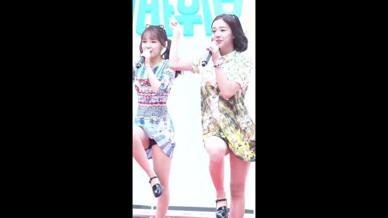 버스터즈(BUSTERS) 채연(Chaeyeon) 내꿈꿔(Dream On) 직캠[180708 대국민 희망프로젝트 공개방송 행사공연] fancam