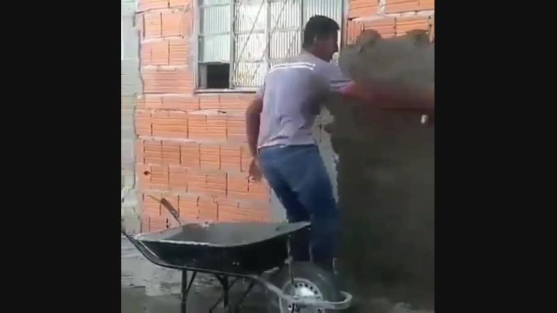 Когда танцуешь, работа спорится веселее - Строим дом своими руками
