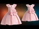 DIY Designer Box Pleated Baby Frock Cutting And Stitching Full Tutorial