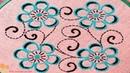 New Nakshi kantha design stitch-105,how to stitch nakshi kantha,নকশী কাঁথা সেলাই, नक्षी कंध सिला2