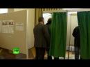 Жерар Депардье проголосовал на выборах президента России