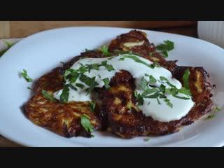 Драники из кабачков | Больше рецептов в группе Кулинарные Рецепты