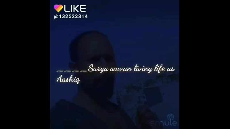 Surya sawan living life as Aashiqui with self-composed song__