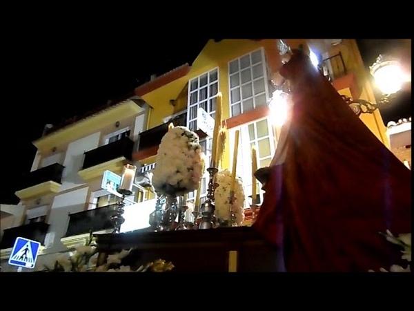 Martes Santo 2018 ALHAURIN de la TORRE, VIRGEN de la AMARGURA, marchas de procesion, 27/03