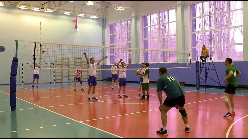 Турнир по волейболу среди команд структурных подразделений ОЭМК