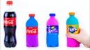🥤COCA COLA, FANTA, SPRITE ИЗ КИНЕТИЧЕСКОГО ПЕСКА🍭Kinetic Sand Coca Cola