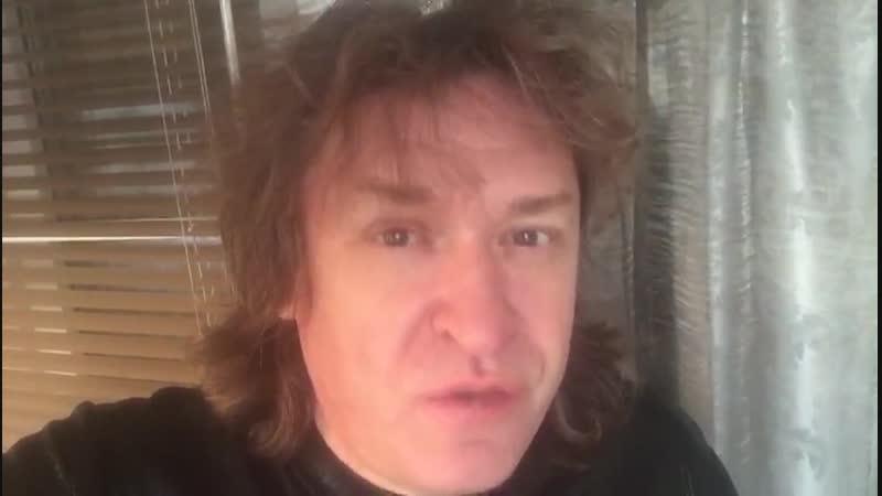 Евгений Феклистов, лидер группы Конец фильма