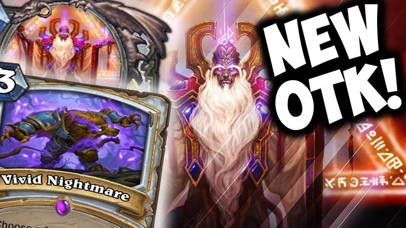 NEW VELEN OTK PRIEST WITH VIVID NIGHTMARE | THE WITCHWOOD | HEARTHSTONE | DISGUISED TOAST