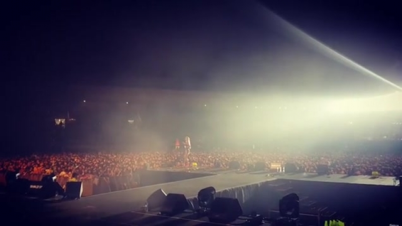 Hyolyn's frist solo concert (from Instagram)