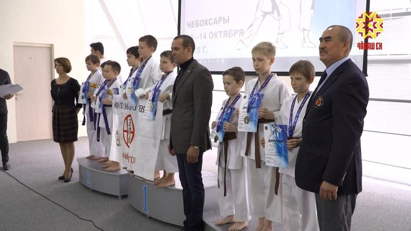 В Чебоксарах разыграли награды кубка России по каратэ