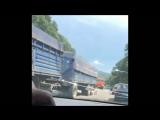 14.07.18 ДТП в Верхнебаканской, девушку сбила ауди, похоже насмерть.