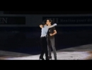 In GPF 14 gala after Javi introduces Yuzu, a beat passes where they just look at each other maybe thinking