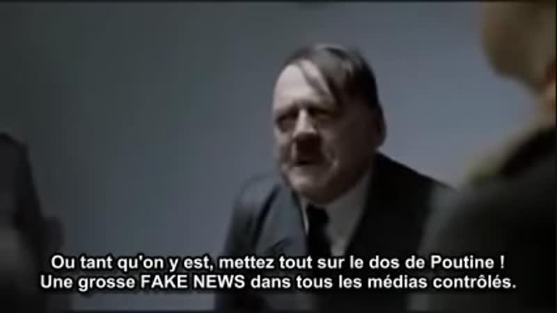La chute - Hitler face aux Gilets Jaunes LE RETOUR Les derniers moments de Macron... Panique à bord du bunker de l'Élysée... A