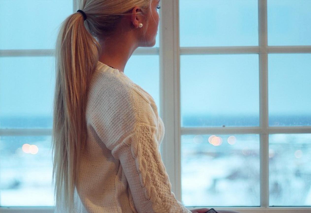 Фото русых блондинок сзади