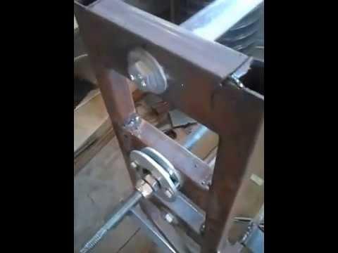 ЧПУ станок из металлического профиля